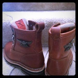 Child/Women's Harley Davidson Boots